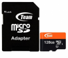Карта памяти Team microSDXC 128Gb UHS-I + SD-adapter (TUSDX128GUHS03)