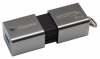 Накопитель USB 3.0 Kingston DT HyperX 1TB Predator Metal Silver (DTHXP30/1TB)