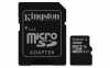 Карта памяти Kingston 32 GB microSDHC class 10 + SD Adapter SDC10/32GB