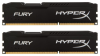 Память Kingston HyperX Fury Black 2x8Gb DDR3 1866MHz (HX318C10FBK2/16)