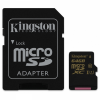 Карта памяти Kingston microSDXC 64Gb Class 10 UHS-I + SD адаптер (SDCA10/64Gb)