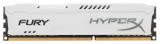 Память Kingston HyperX FURY White 1x4Gb DDR3 1866MHz (HX318C10FW/4)