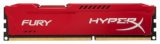 Память Kingston HyperX FURY Red 1x8Gb DDR3 1600Mhz (HX316C10FR/8)