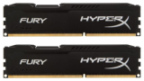 Память Kingston HyperX Fury Black 2x8Gb DDR3 1600MHz (HX316C10FBK2/16)
