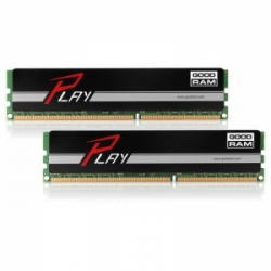 Память GoodRAM Play Black 2x4Gb DDR3 1600 MHz (GY1600D364L9S/8GDC)