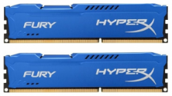 Память Kingston HyperX Fury Blue 2x4Gb DDR3 1600Mhz (HX316C10FK2/8)