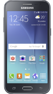 Смартфон SAMSUNG SM-J200H Galaxy J2 DS Black