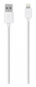 Кабель BELKIN USB 2.0 Lightning charge/sync cable 2м, White (F8J023bt2M-WHT)
