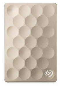Жесткий диск 1TB Seagate Backup Plus STEH1000201 Gold USB3.0