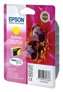 Картридж Epson StC79/110, CX3900/4900/5900/7300/8300 yellow (C13T10544A10)