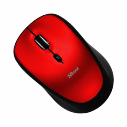 Мышь Trust Yvi Wireless Mouse Red (19522)