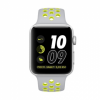 Apple Watch Nike+42mm Silver Aluminum Case with Silver/Volt Nike Sport  Band - Silver (MNYQ2)