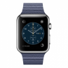 Apple 42mm Stainless Steel Case with Bright Blue Leather Loop (MJ462)