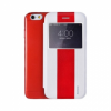 REMAX Book Cover with Window iPhone 6 Plus White/Red