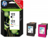Картридж HP No.122 Black/Tri-color Combo Pack