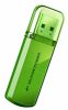 Накопитель USB 64Gb Silicon Power Helios 101 (SP064GBUF2101V1N) Green