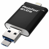 Накопитель USB 32Gb PhotoFast i-Flashdrive EVO Plus Black (IFDEVO32Gb)