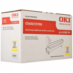 Тонер-картридж OKI C5600/5700 XL (43381705) Yellow