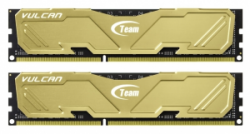 Память Team Vulcan Yellow DDR3 2x4Gb 1866MHz (TLYED38G1866HC11DC01)