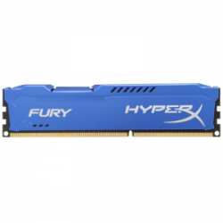 Память Kingston HyperX Fury Blue 1x8Gb DDR3 1600Mhz (HX316C10F/8)