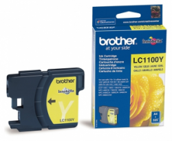 Картридж Brother DCP-385C/ 6690CW, MFC990CW yellow (LC1100Y)