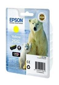 Картридж Epson 26XL XP600/605/700 yellow (C13T26344010)