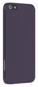 Чехол OZAKI O!coat-0.3-Solid for iPhone 5/5S Purple (OC530PU)
