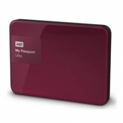 Western Digital My Passport Ultra 3TB WDBBKD0030BBY Bordeaux Red (Original Factory Refurbished)