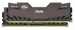 Память Team Dark Series Gray 2x8Gb DDR3 1600 (TDGED316G1600HC9DC01)