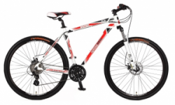 "Велосипед Оптима SKD 29"" Optimabikes BIGFOOT AM  Vbr рама-21"" Al бело-красн. (SKDCH-OP-29-005-1)"