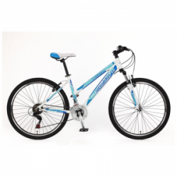 "Велосипед Оптима SKDCH-OP-26-056-1SKD 26"" Optimabikes F-2 AM Vbr Al бело-синий 2015"