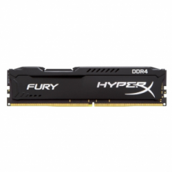 Память Kingston HyperX Fury Black 1x8Gb DDR4-2666 CL15 (HX426C15FB/8)